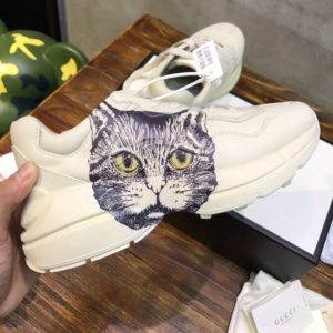 GUCCI RHYTON SNEAKER WITH MYSTIC CAT