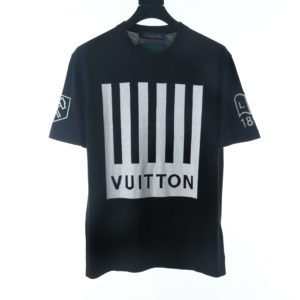 LOUIS VUITTON PIANO GOBLE KNITTED T SHIRT