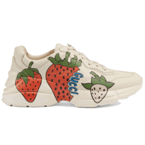 GUCCI RHYTON SNEAKER WITH STRAWBERRY