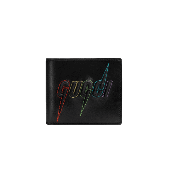 WALLET WITH GUCCI BLADE EMBROIDERYWALLET WITH GUCCI BLADE EMBROIDERY
