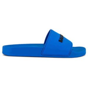 BALENCIAGA RUBBER LOGO POOL SLIDE SANDALS - BBS1