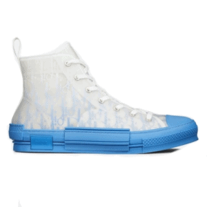 B23 HIGH-TOP SNEAKER WITH GRADIENT BLUE DIOR OBLIQUE CANVAS