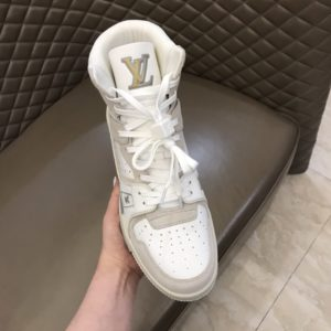 LOUIS VUITTON TRAINER SNEAKER BOOT - LV155