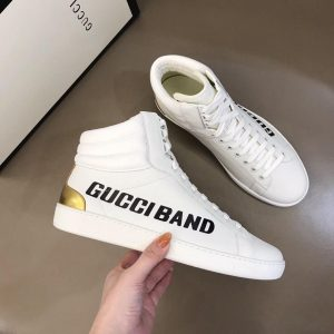 GUCCI ACE BAND HIGH-TOP SNEAKER - GC189