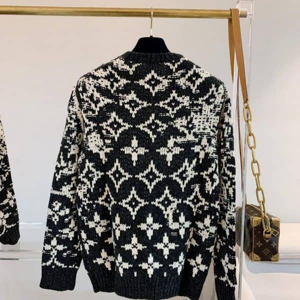 LOUIS VUITTON DISTORTED MONOGRAM CREW NECK - LV16