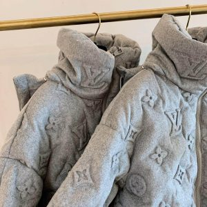 LOUIS VUITTON MONOGRAM BOYHOOD PUFFER JACKET IN GREY - LV23