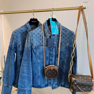 LOUIS VUITTON MONOGRAM DENIM JACKET - LV19