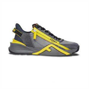 FENDI CHUNKY LACE-UP TRAINERS - FD21