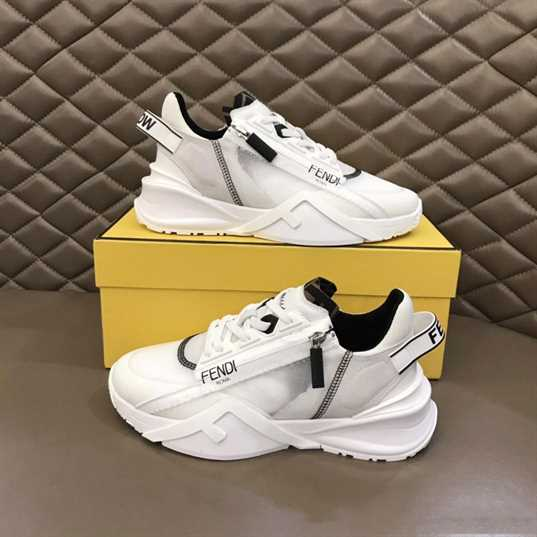 FENDI CHUNKY LACE-UP TRAINERS - FD23
