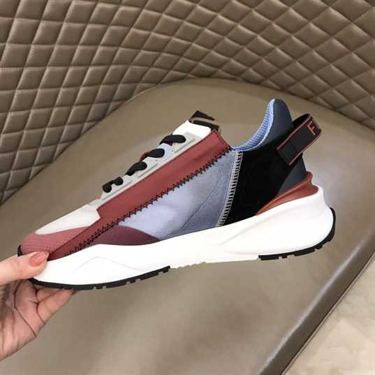 FENDI CHUNKY LACE-UP TRAINERS - FD26