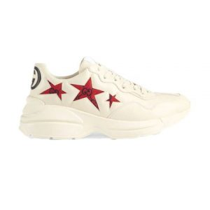 GUCCI RHYTON SNEAKERS WITH STAR - GC060