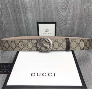GUCCI GG SUPREME BELT WITH G BUCKLE - B45