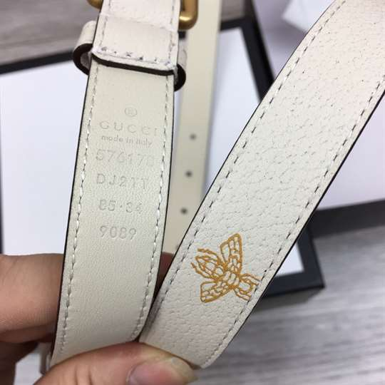 GUCCI BELT WITH BEES AND STARS PRINT - B34