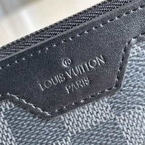 N60354 Louis Vuitton Utility Coin Holder Damier Graphite Coated Canvas - RRG054
