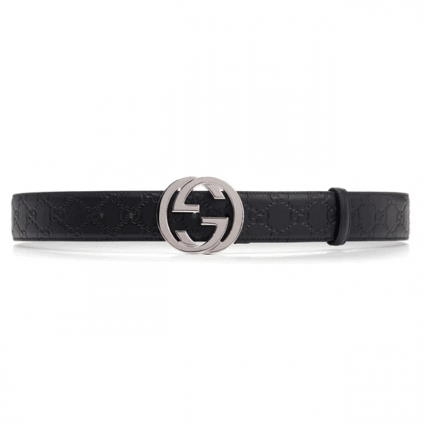 GUCCI GG SUPREME BELT WITH G BUCKLE - B43